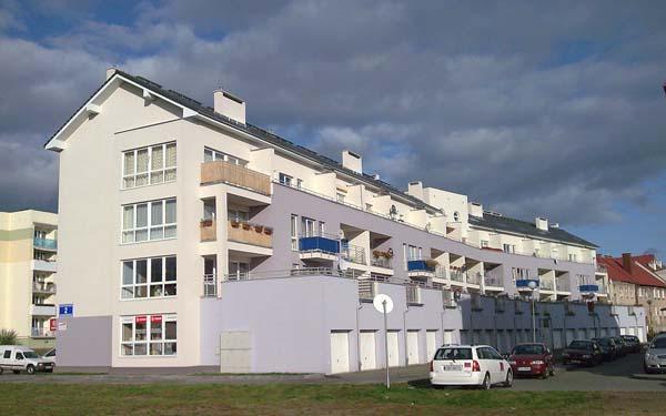 Budynek mieszkalno-usługowy ul. Konopnickiej Słubice